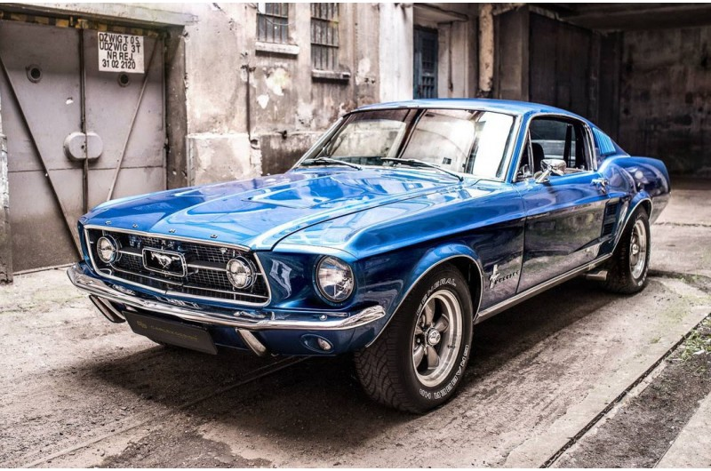 Ford Mustang Fastback >> Mustang Fastback Modell 1967 Or 1968 Made By Ford With 289 V8 Engine