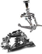 Rear suspension for Ford Mustang 1967-1968